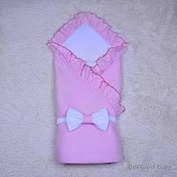 Літній конверт-ковдра Ніжність (рожевий), фото 1