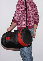 Спортивная сумка - тубус MAD PYL 40L Red, фото 2