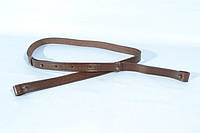 Лямка разгрузочная кожаная коричневая 5016/2, фото 1