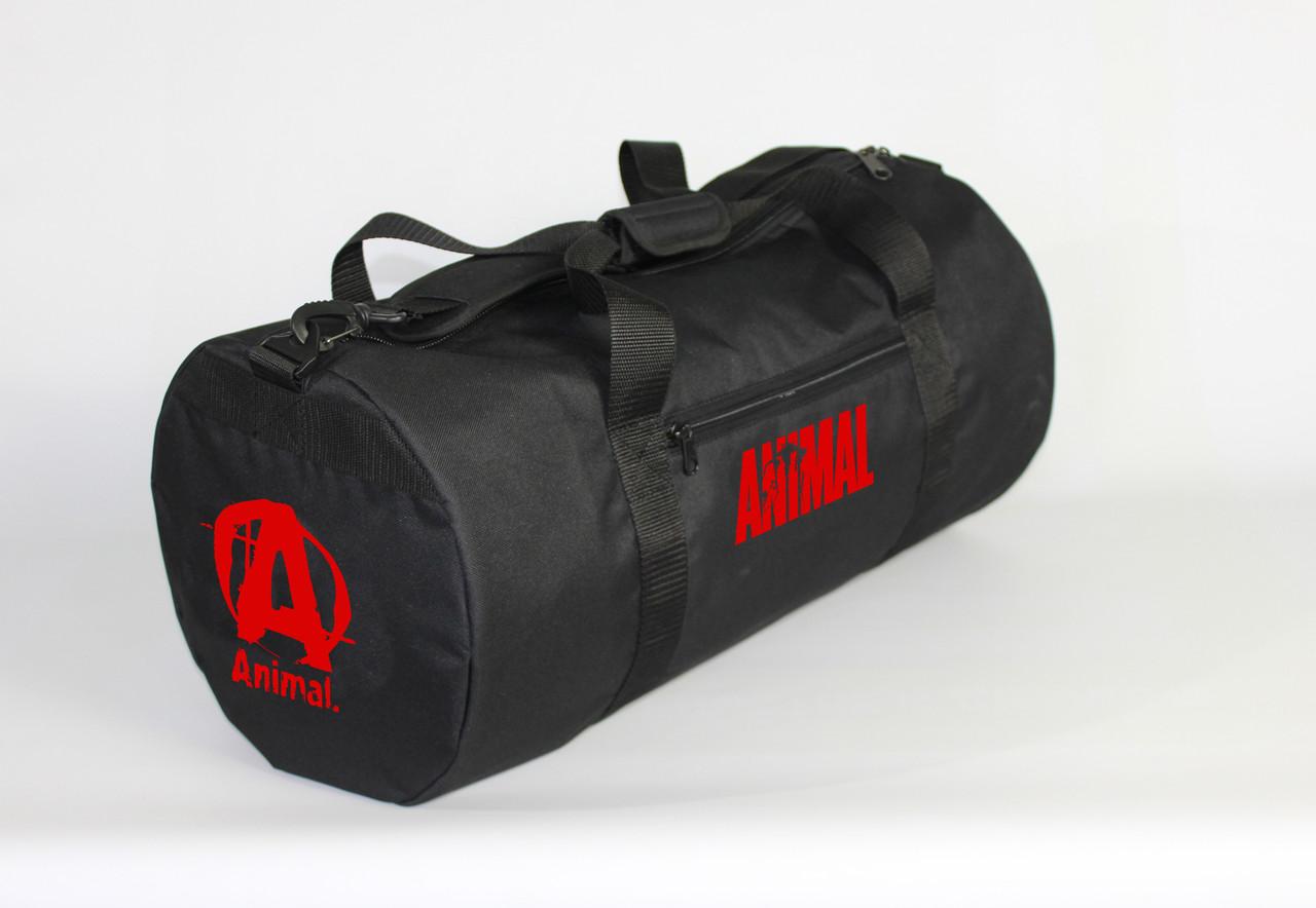Спортивная сумка - тубус MAD PYL 40L ANIMAL Red