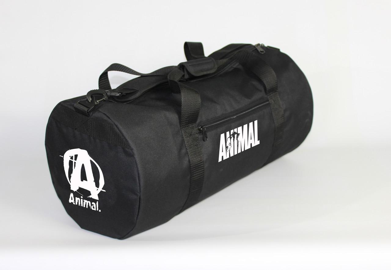 Спортивная сумка - тубус MAD PYL 40L ANIMAL White