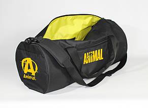 Спортивная сумка - тубус MAD PYL 40L ANIMAL Yellow, фото 2