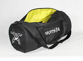 Спортивная сумка - тубус MAD PYL 40L MONSTA White, фото 2