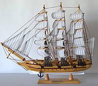 Парусник сувенирный, деревянный  43 см * 7 см * 39 см(высота)  FJ45A3