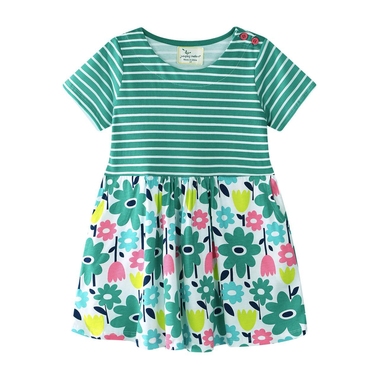 Платье для девочки Цветы Jumping Meters