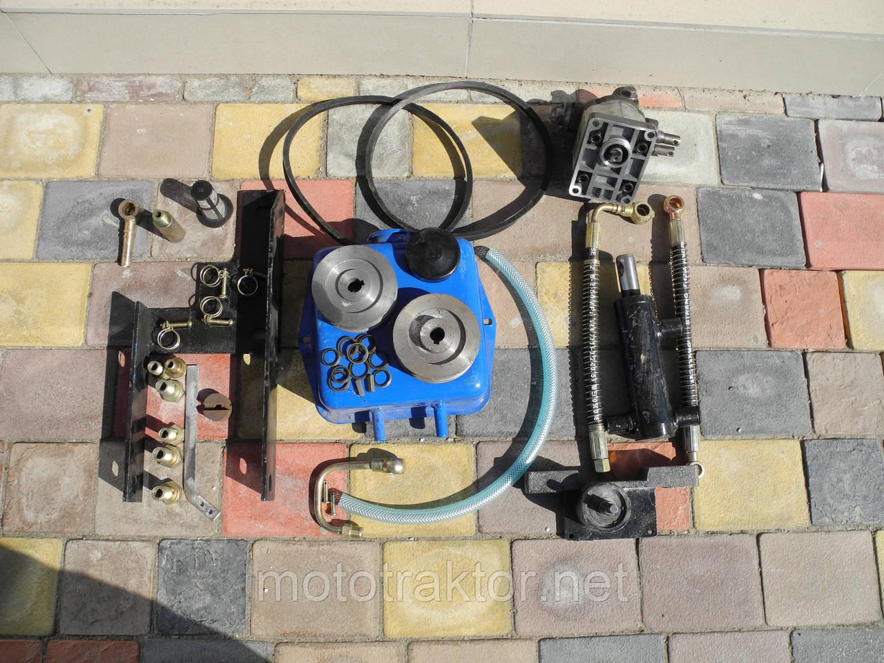 Гидравлическая система навесного механизма для мототрактора(гидравлика)
