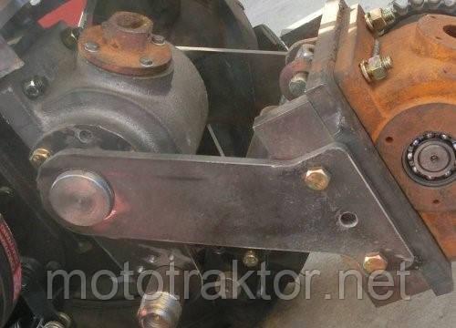 Редуктор промежуточный с навесным механизмом DW 120/120B