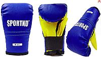 Перчатки боксерские детские Sportko Кожвинил, фото 1