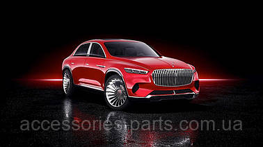 кроссовер от Mercedes-Benz - Vision Mercedes-Maybach Ultimate Luxury.