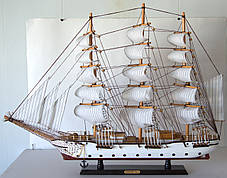 Парусник сувенирный, корабль деревянный 78 см * 11 см * 59 см(высота) FJ8001. Одесса, фото 3