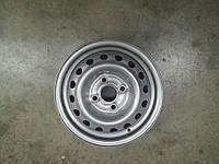 Диск колеса стальной R13 серебро Ланос Сенс, ЗАЗ, t1301-3101015-01