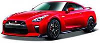 Модель автомобиля Nissan GT-R, 1:24, Bburago (красная)