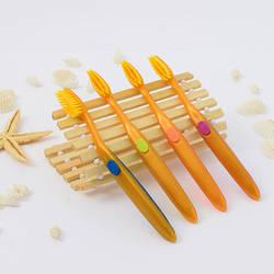 Дитяча зубна щітка з бамбуковим вугільним напиленням - 1шт Корея