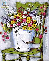 """Роспись по номерам """"Полевые цветы"""""""
