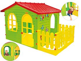 Домик для детей Mochtoys 10498 с верандой, фото 3
