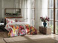 Семейный комплект постельного белья ТАС Digital  Marea oranj