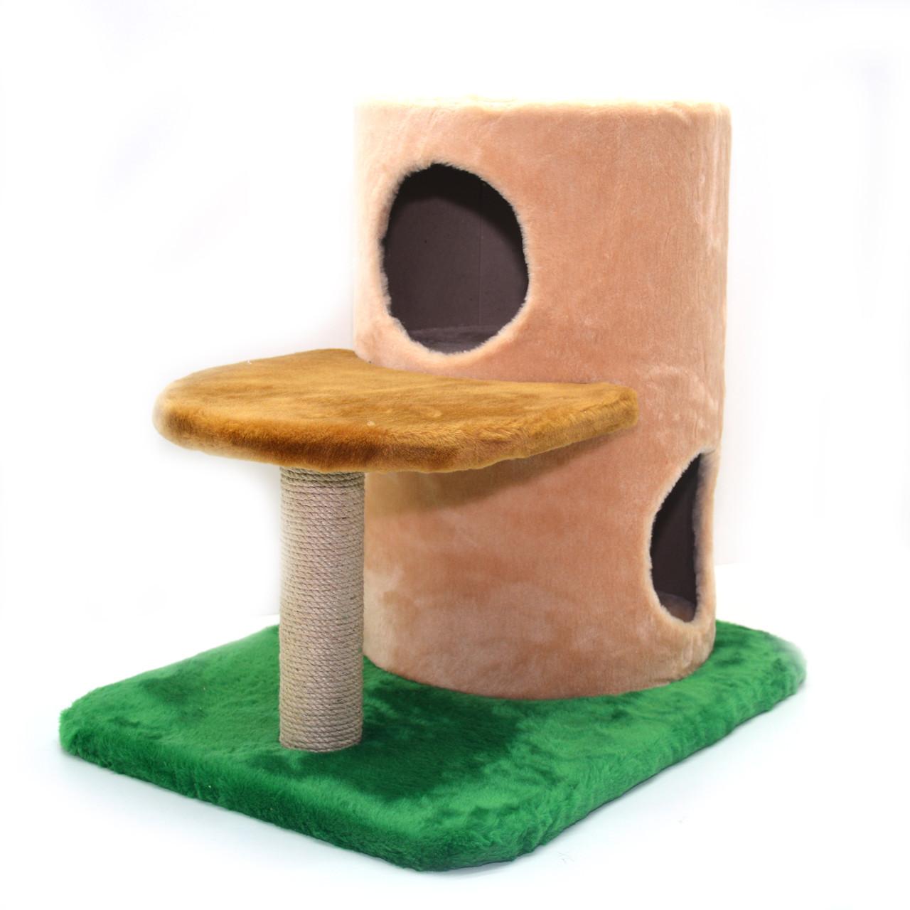 Домик когтеточка для котов Башта