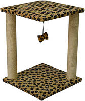 Домик когтеточка для кошек Самба леопард
