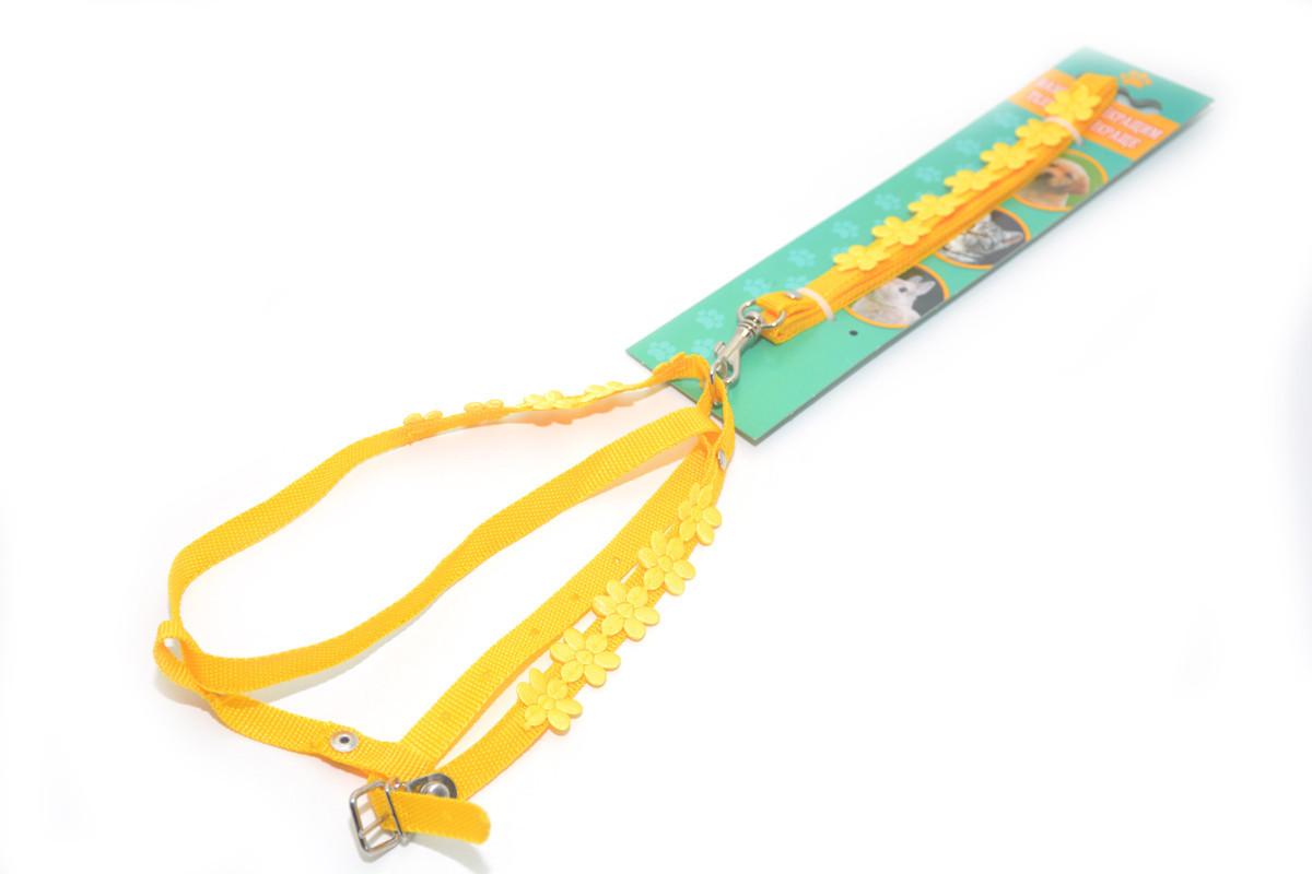 Комплект капроновый Лето 1,0 для животных желтый
