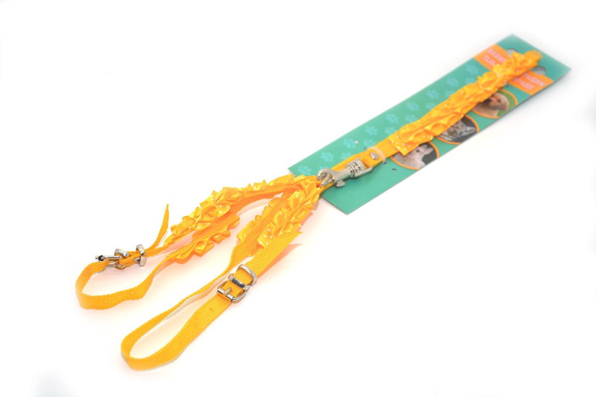 Комплект капроновый Гламур 1,0 для животных желтый
