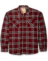 Фланелевая рубашка на меховой подкладке Wrangler - Tawny Port (2XL)