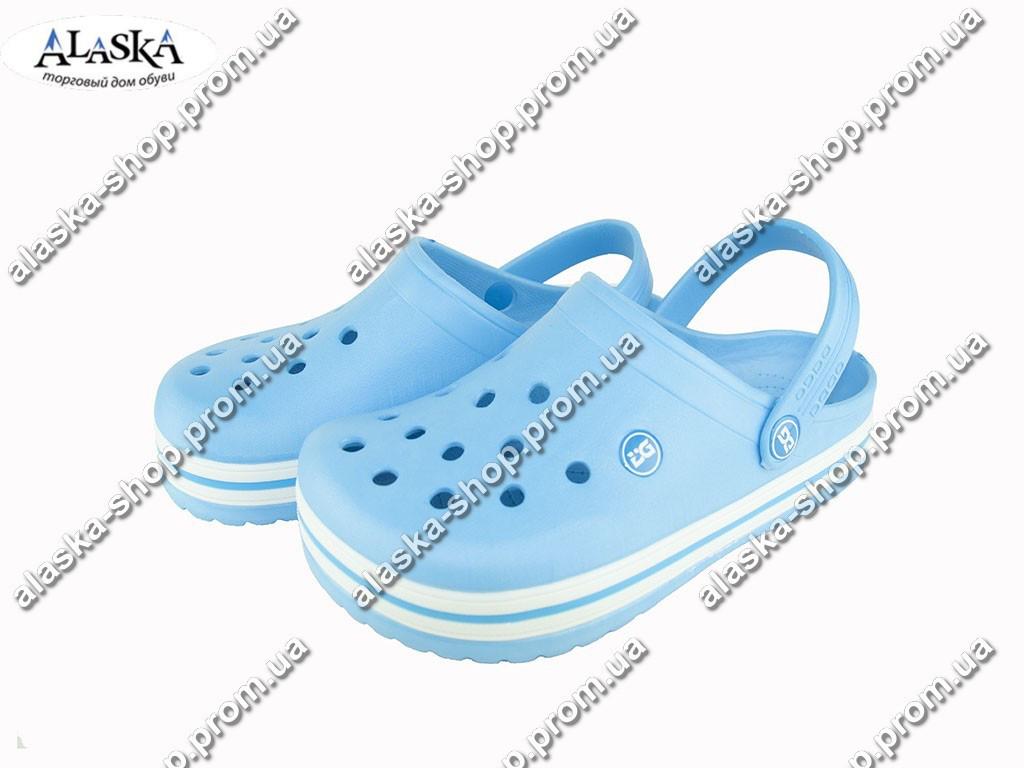 Женские кроксы (Код: Даго 420 голубой )