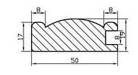 Профиль МДФ AGT 1037