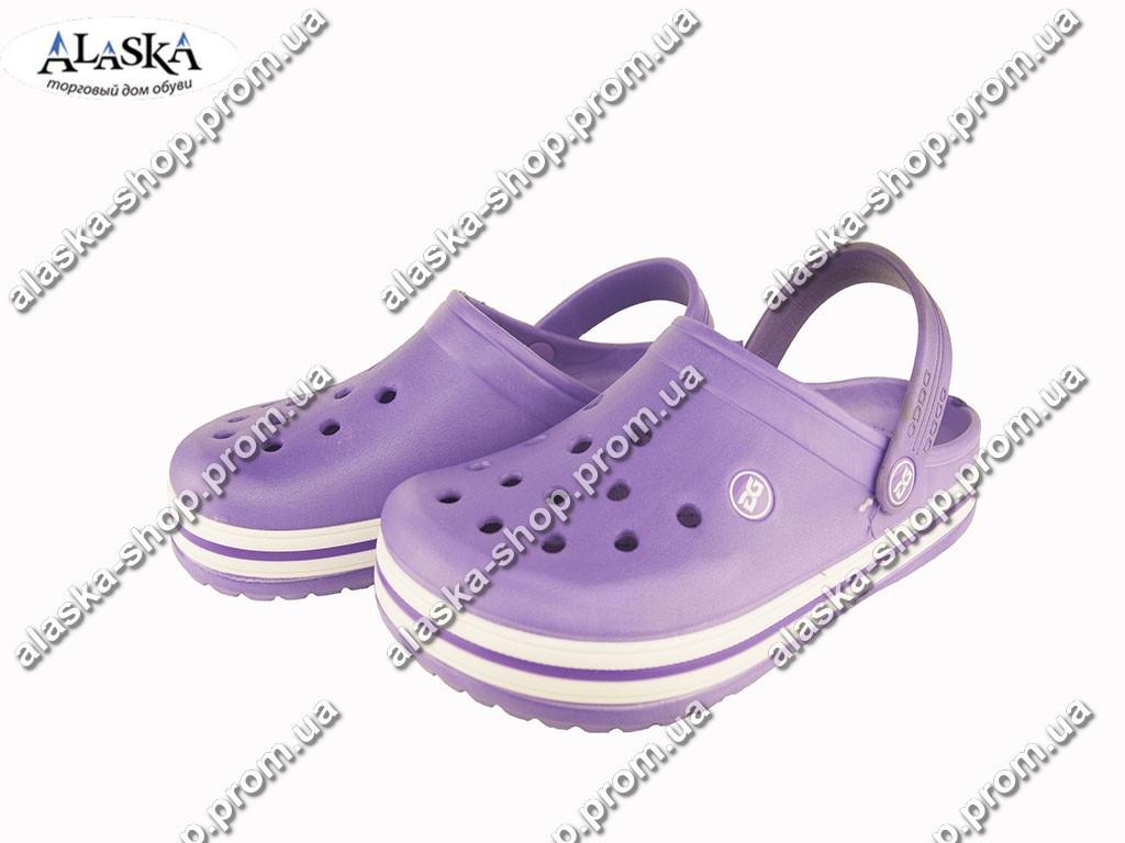 Женские кроксы (Код: Даго 420 фиолет )