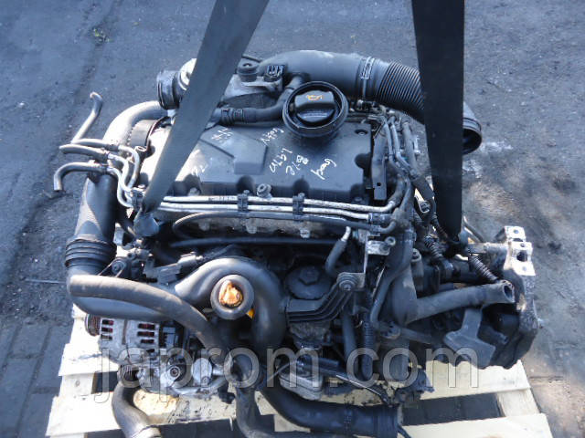 Мотор (Двигатель) VW Audi Skoda Seat 1.9 tdi BJB BXE BKC 105л.с