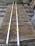 Труба пластикова для напування 2 м Труби для клітиок Для ніпельних поїлок, фото 4