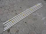 Труба пластикова для напування 2 м Труби для клітиок Для ніпельних поїлок, фото 6