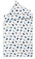 Комплект постельного белья, Высококачественная фланель (100% хлопок). 140х200 см
