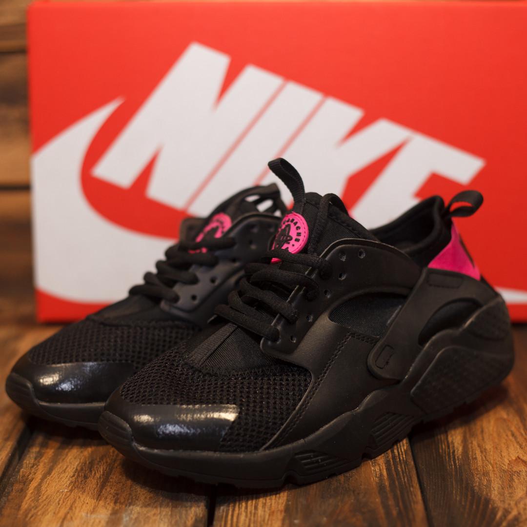 san francisco 3e236 4e8a8 Женские кроссовки Nike Huarache черный + розовый 38 39: продажа, цена .  кроссовки, кеды повседневные от