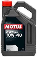 Масло моторное Motul 2100 POWER+ SAE 10W40 4L