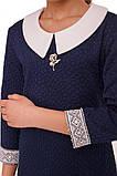 Стильное классическое платье  для девочки 140-152р, фото 7