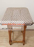 Накидка-сидушка на стул с карабином от производителя