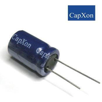 220mkf - 100v  GS 13*25  Capxon, 85°C