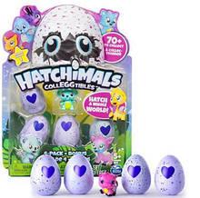 Hatchimals Хэтчималс 4 яйца+1 фигурка (реплика)
