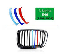 Накладка решетки радиатора BMW 3 E46 М-стиль 1998-2001