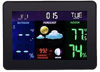 Метеостанция Excelvan TS-70 беспроводная цветная, фото 1