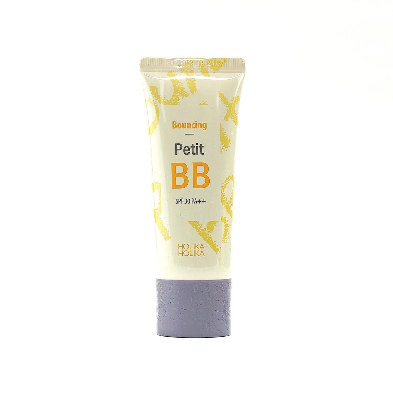 BB-крем с коллагеном и экстрактом черной икры Holika Holika Petit BB Bouncing - 30 мл