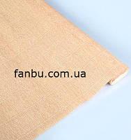 "Креп бумага,цвет""беж от Тиффани Тернер"" №17 А/4( рулон2.5м*0.5м)"