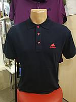Мужская футболка воротник adidas