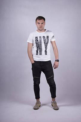 Трикотажная мужская футболка р. 44-52