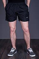 Мужские спортивные шорты NIKE. Цвет - черный