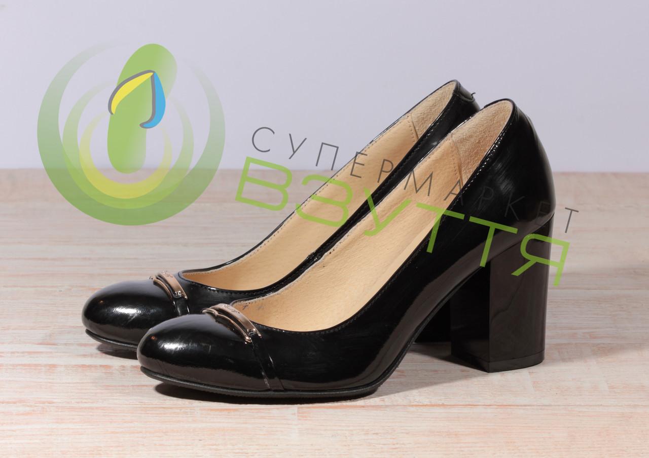 Кожаные женские туфли Наша версия 011 л 36-37 размеры