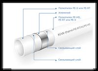 Труба металлопластиковая KAN-therm 16x2.0 PE-RT/Al/PE-HD (PE-RT/Al/PE-RT)