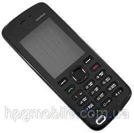 Корпус для Nokia 5220 с клавиатурой, черный, оригинал