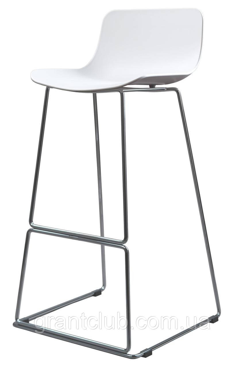 Барный пластиковый белый стул PETAL (Петал) Concepto