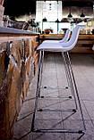 Барный пластиковый белый стул PETAL (Петал) Concepto, фото 4